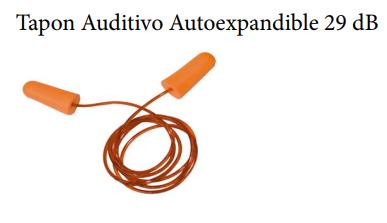 Tapon Auditivo Autoexpandible 29 dB